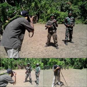 Rohan Radheya undercover Papua